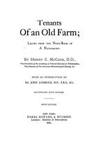 Tenants of an Old Farm PDF