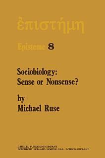 Sociobiology  Sense or Nonsense