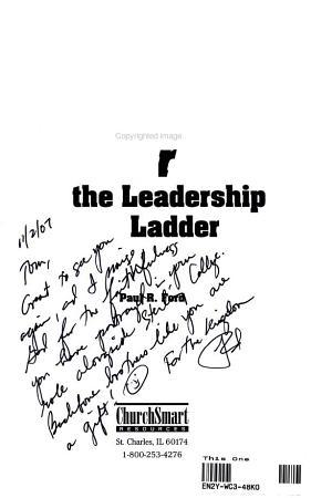 Knocking Over the Leadership Ladder PDF