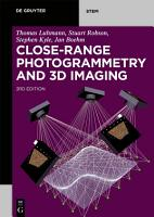 Close Range Photogrammetry and 3D Imaging PDF