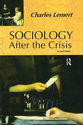 Sociology After the Crisis