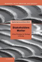 Stakeholders Matter PDF