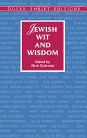 Jewish Wit and Wisdom PDF