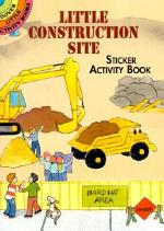 Little Construction Site Sticker Activity Book