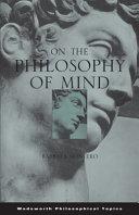 On the Philosophy of Mind PDF
