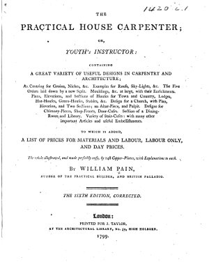 The Practical House Carpenter     Sixth Edition  Corrected