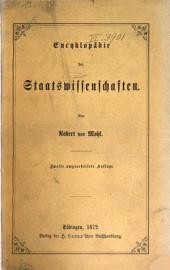 Encyklopädie der Staatswissenschaften