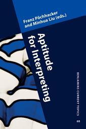Aptitude for Interpreting
