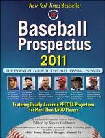 Baseball Prospectus 2011 PDF