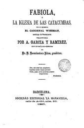Fabiola, ó, La iglesia de las catacumbas