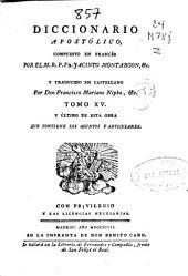 Diccionario apostólico: Volumen 12