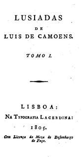Lusiadas: Volume 1
