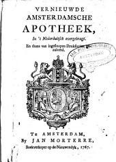 De vernieuwde Amsterdamsche apotheek: Volume 1