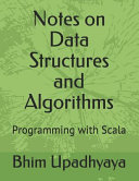 Notes on Data Structures and Algorithms