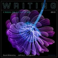 Writing  A Manual for the Digital Age  Brief  Spiral bound Version PDF