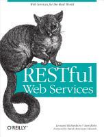 RESTful Web Services PDF