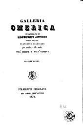 Galleria omerica, o, Raccolta di monumenti antichi esibita dal cav. Francesco Inghirami per servire allo studio dell'Illiade e dell'Odissea