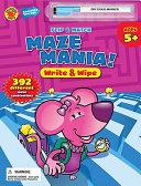 Flip and Match Maze Mania Write and Wipe