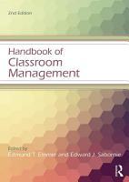 Handbook of Classroom Management PDF