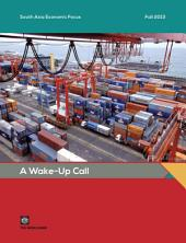 South Asia Economic Focus, Fall 2013: A Wake-Up Call