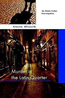 Murder in the Latin Quarter Book