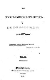 The Miscellaneous Repository: Volumes 2-3