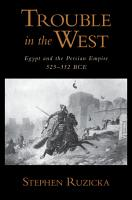 Trouble in the West PDF