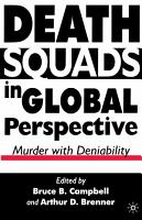 Death Squads in Global Perspective PDF