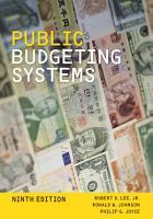 Public Budgeting Systems PDF