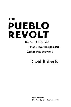 The Pueblo Revolt PDF