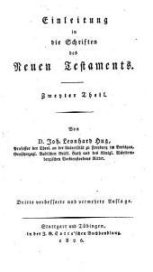 Einleitung in die Schriften des Neuen Testaments