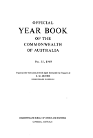 Official Year Book of the Commonwealth of Australia No  55  1969 PDF