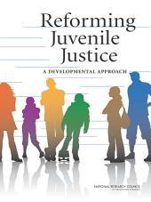 Reforming Juvenile Justice: A Developmental Approach