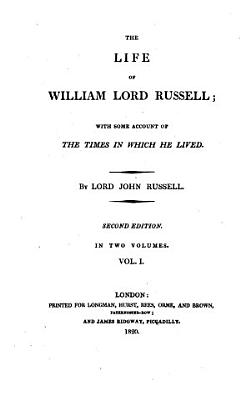The Life of William Lord Russell