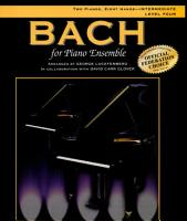 Bach for Piano Ensemble  Level 4 PDF
