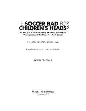 Is Soccer Bad for Children s Heads