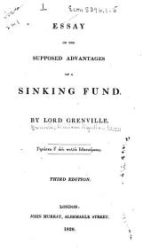 Essay on the Supposed Advantages of a Sinking Fund