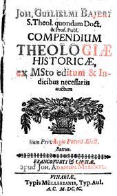Compendium Theologiae historicae