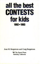 All the Best Contests for Kids  1992 1993 PDF