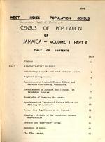 Census of Population of Jamaica