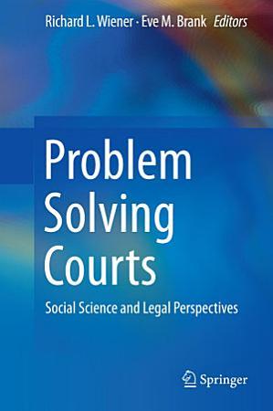 Problem Solving Courts PDF
