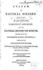 The System of Natural History: Volume 1
