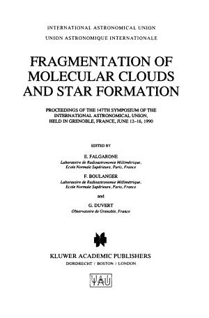 Fragmentation of Molecular Clouds and Star Formation PDF
