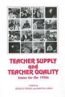 Teacher Supply and Teacher Quality PDF