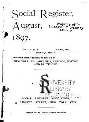 Social Register, Summer