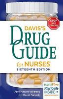 Davis s Drug Guide for Nurses PDF
