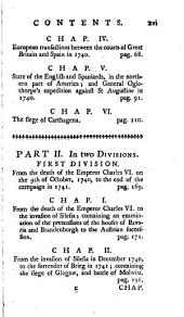 An Impartial Representation of the Conduct of the Several Powers of Europe, Engaged in the Late General War: Including a Particular Account of All the Military and Naval Operations; from the Commencement of Hostilities Between the Crowns of Great Britain and Spain, in 1739. To the Conclusion of the General Treaty of Pacification at Aix la Chapelle, 1748, Volume 1