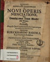 De novi operis nunciatione