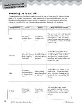 Little Bear Leveled Comprehension Questions