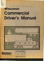 Wisconsin Commercial Driver's Manual: General